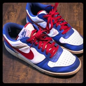 Nike Low Red White and Blue Size 12 Men's